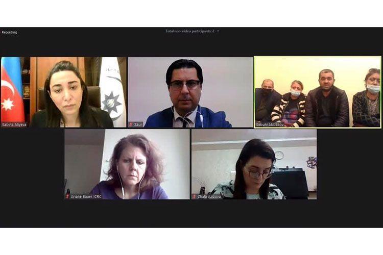 Проведены обсуждения в связи с азербайджанскими военнослужащими, кадры с изображением которых распространились в соцсетях
