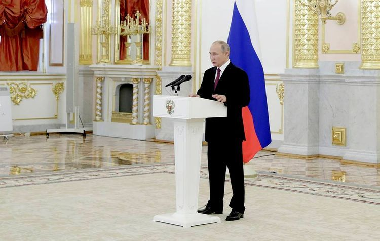 Putin hopes for participation of international organizations in future resolution of conflict in Nagorno Karabakh