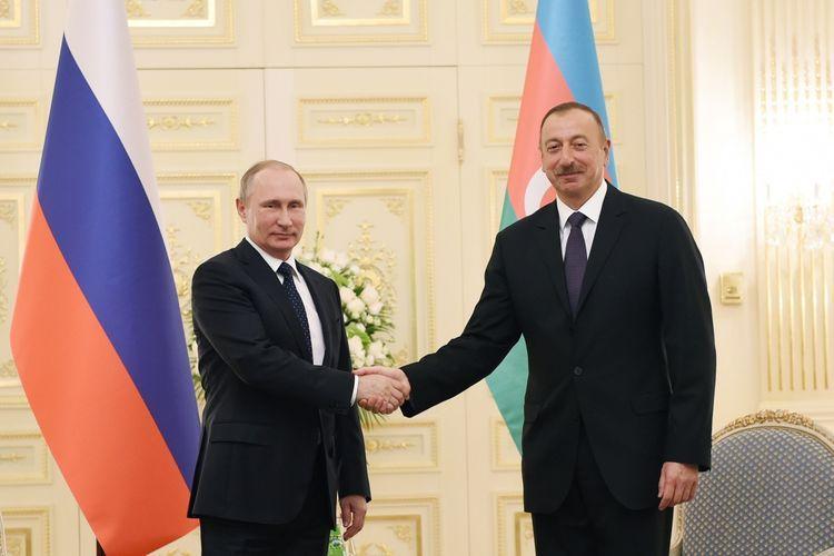 President of the Republic of Azerbaijan Ilham Aliyev had a phone conversation with President of the Russian Federation Vladimir Putin