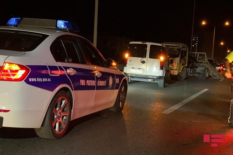 Mehdiabadda piyadanı avtomobil vurub