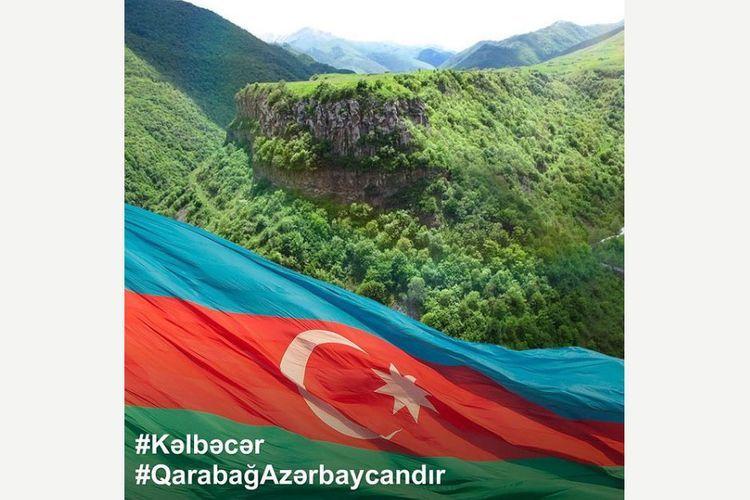 First Vice President Mehriban Aliyeva congratulates Azerbaijani people on the liberation of Kalbajar