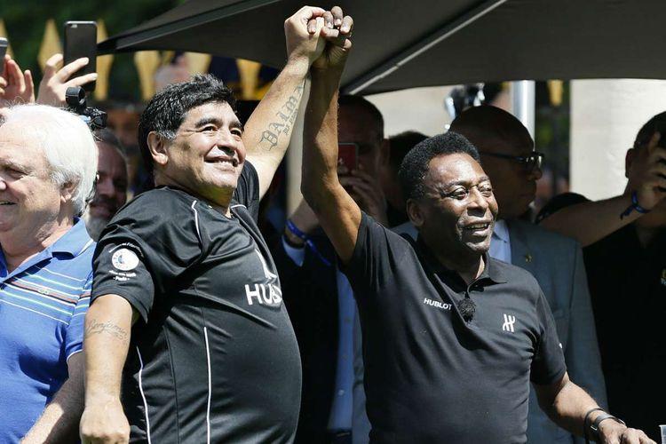"""Pele: """"Maradona ilə göylərdə yenidən futbol oynayacağıq"""""""