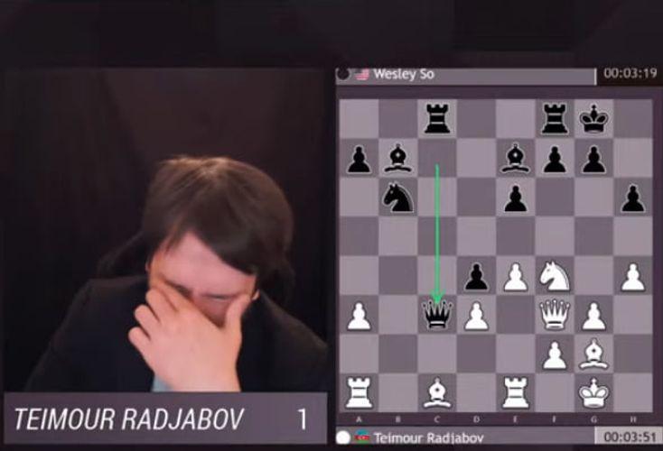 """Teymur Rəcəbov """"Skilling open"""" turnirində mübarizəni dayandırıb"""