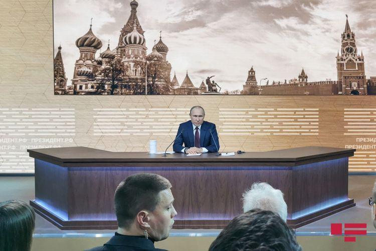 Стало известно время проведения большой пресс-конференции Путина по итогам года