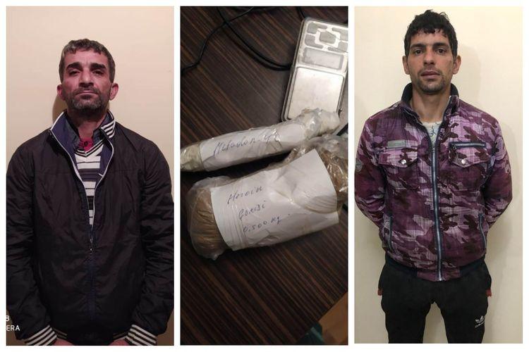 DSX: İrandan Azərbaycana narkotik gətirənlər saxlanılıb