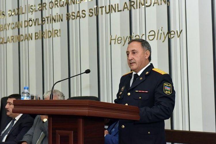 Назначен начальник Главного Управления полиции Баку