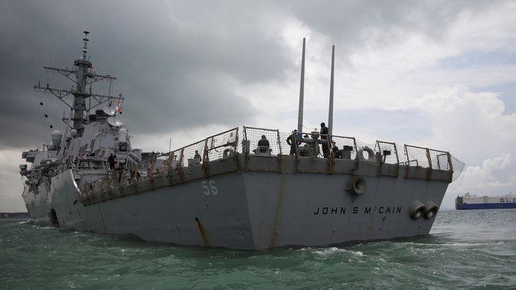 МИД РФ выразил протест из-за нарушения границ американским эсминцем
