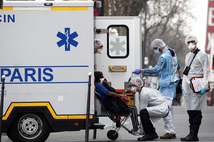 Fransada indiyədək 2,2 milyondan çox insan koronavirusa yoluxub