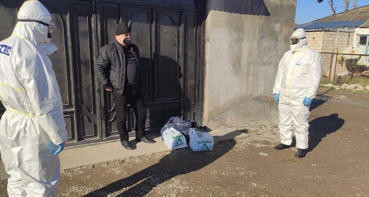 """Şabranda yaşadığı ünvanı tərk edən """"COVİD-19"""" xəstələri aşkarlanıb - FOTO"""
