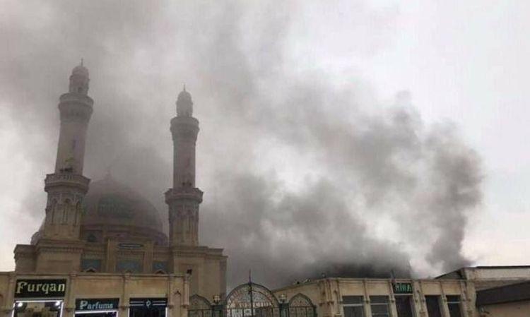 МЧС: Пожар в Баку потушен – ФОТО - ОБНОВЛЕНО