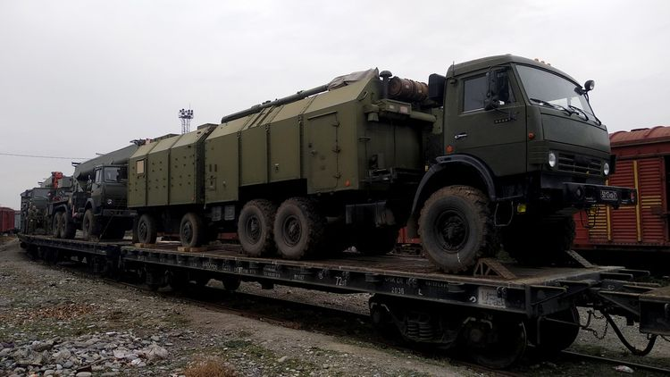 Rusiya sülhməramlı kontingentinin təminatı ilə bağlı fəaliyyətlər həyata keçirilir  - VİDEO - FOTO