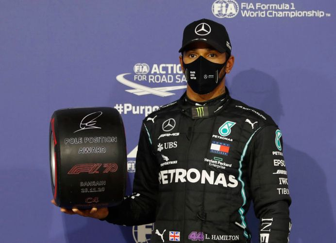 Lewis Hamilton wins Bahrain F1 Grand Prix for Mercedes