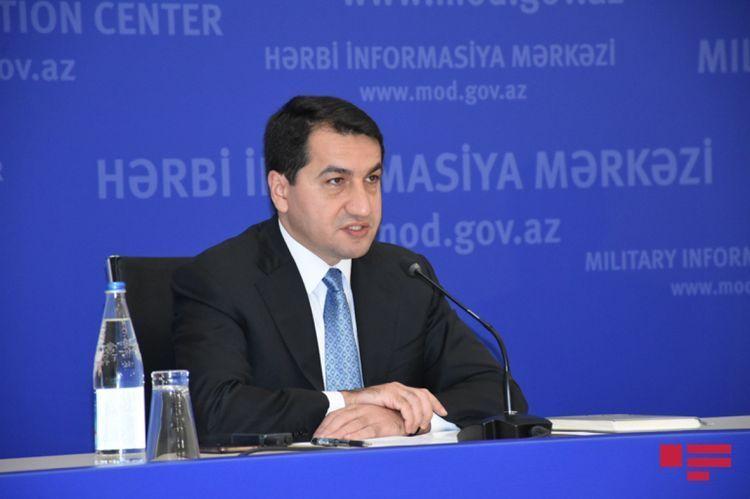 "Hikmat Hajiyev: ""Liberation of territories is a demand of Azerbaijani people"""