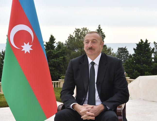 Azerbaijani President: Armenia recruist people from Middle East and we have evidences
