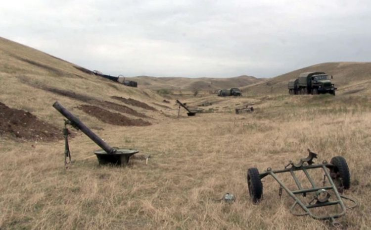 Azerbaijani MoD: A large number of trophies was seized from the enemy  - VIDEO