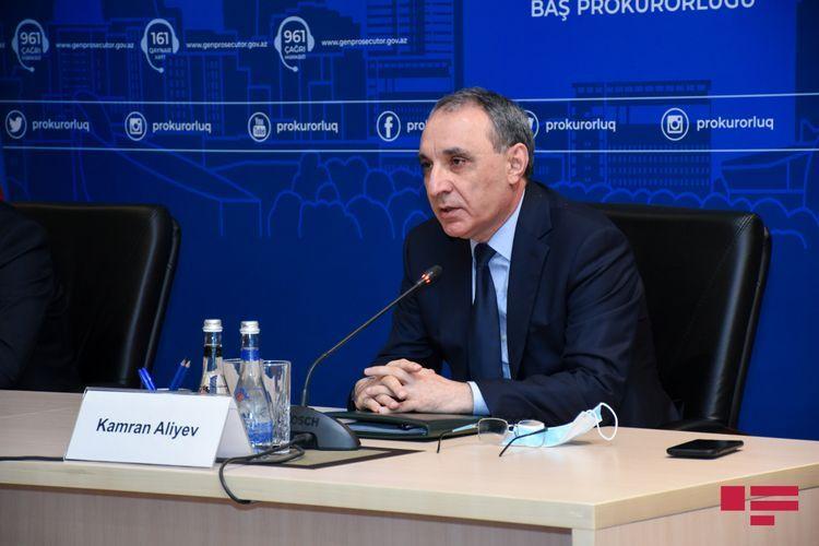 "Kamran Aliyev: ""We will do our best for bringing those like Araik Arutunyan, to criminal responsibility"""