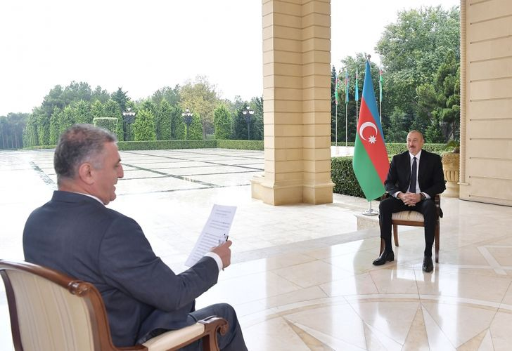 President: The issue of restoring the ceasefire cannot be discussed at a time when Armenia has launched a new attack on us