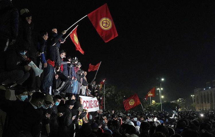 Some 590 injured in riots in Kyrgyzstan's capital