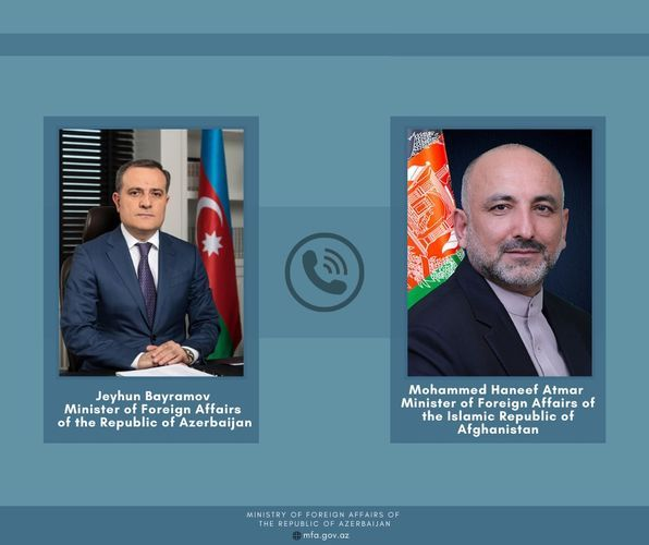 Afghan FM reiterates support of Afghanistan to Azerbaijan