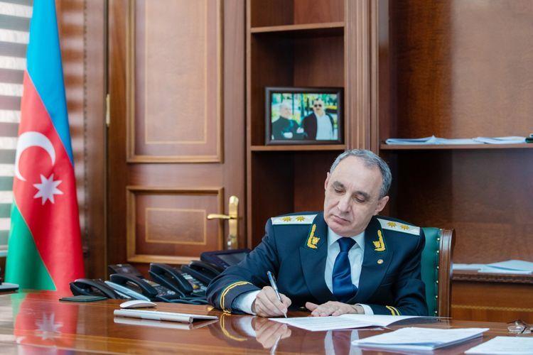 Azerbaijan's Prosecutor General addresses appeal to Secretary-General of Amnesty International