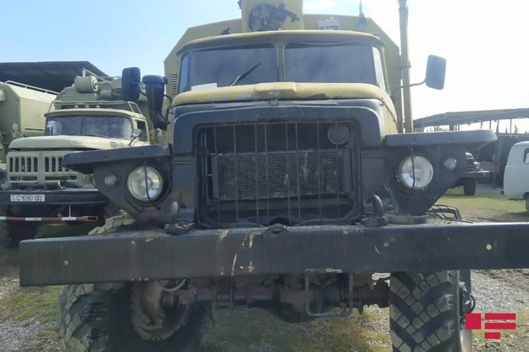 Next trophies that Azerbaijani Army seized from the Armenian armed forces - <span class=