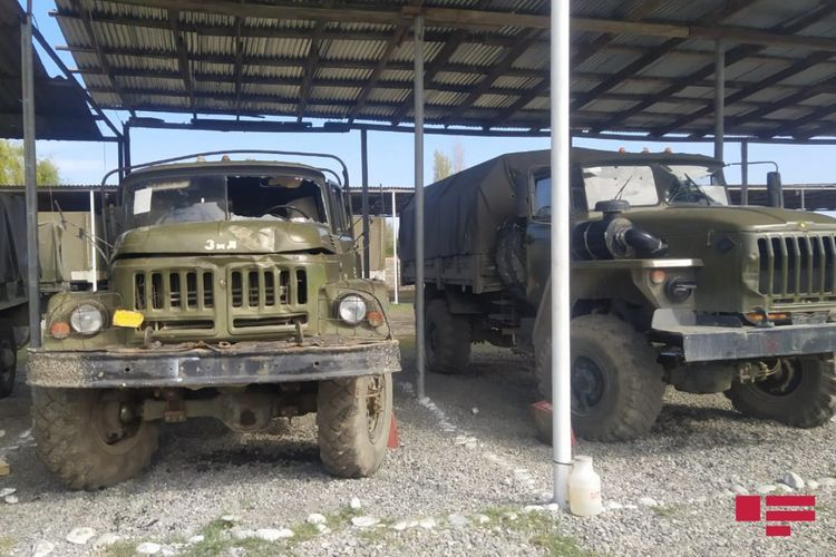Next trophies that Azerbaijani Army seized from the Armenian armed forces - <span class='red_color'>PHOTO</span>