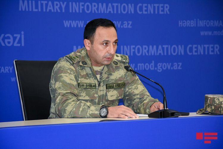 "Anar Eyvazov: ""Enemy side sustained heavy losses"""