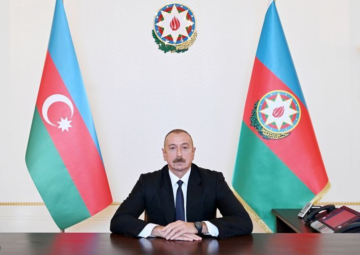 """President Ilham Aliyev: """"Armenia gets weapons free of charge, we pay for them"""""""