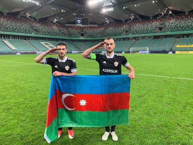 Capitan of Qarabağ FC Maxim Medvedev responded to Henrikh Mkhitaryan