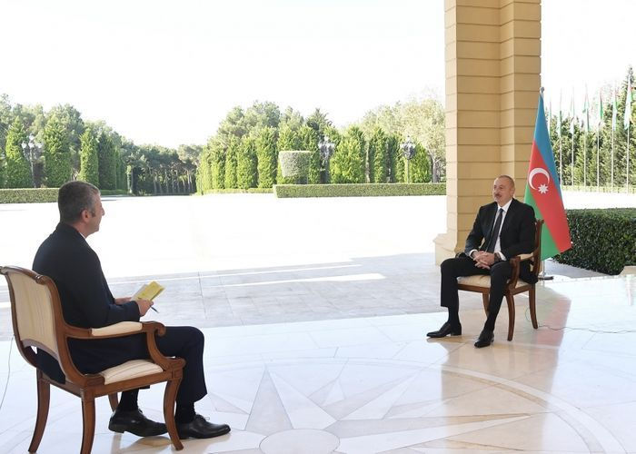 """Azerbaijani President: """"I want to tell Armenian leadership: the sooner you leave the occupied lands, the better it will be for you"""""""