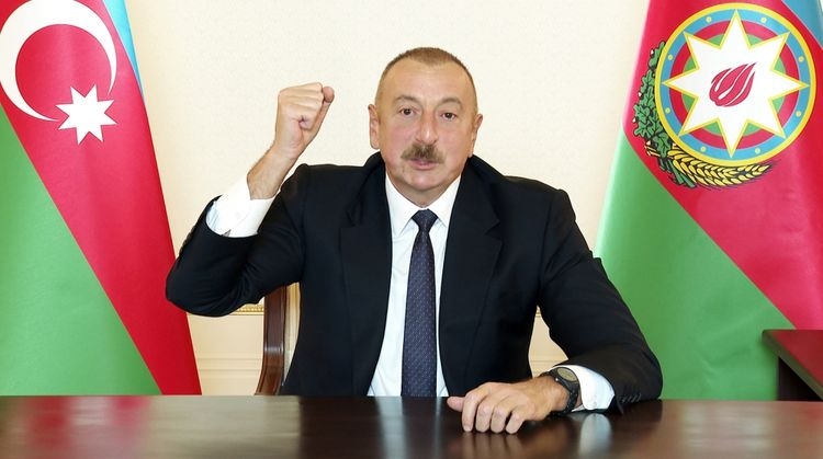 President Ilham Aliyev: Any military expert can see that the Azerbaijani Army today has beaten Armenia on the battlefield
