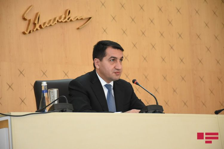 """Hikmat Hajiyev: """"Brother Turkey is already on the table as a member of OSCE Minsk Group"""""""