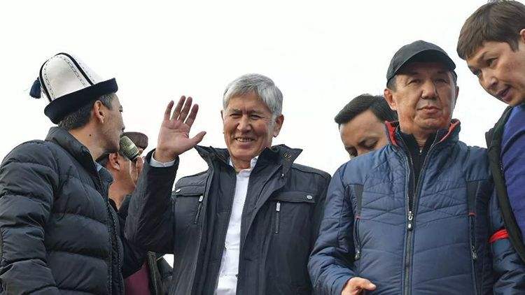 Kyrgyz ex-President Atambayev detained by special police forces