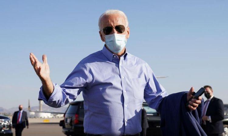 Democratic presidential nominee Biden tests negative for COVID-19