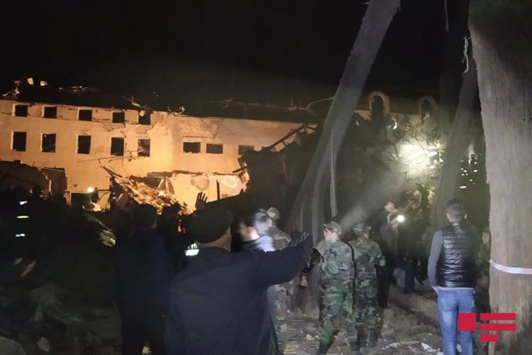 5 civilians killed, more than 28 injured as Armenia fires missile to Azerbaijan's Ganja - <span class='red_color'>PHOTO</span> - <span class='red_color'>VIDEO</span> - <span class='red_color'>UPDATED</span>