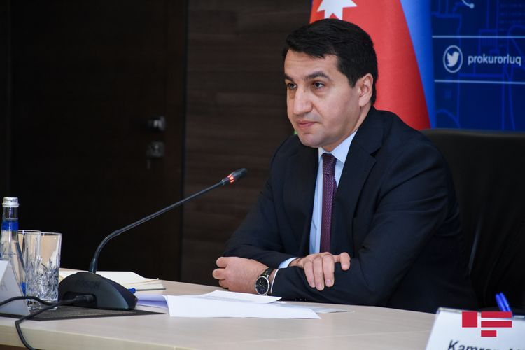 """Hikmat Hajiyev: """"It is an act of genocide against Azerbaijani people"""""""