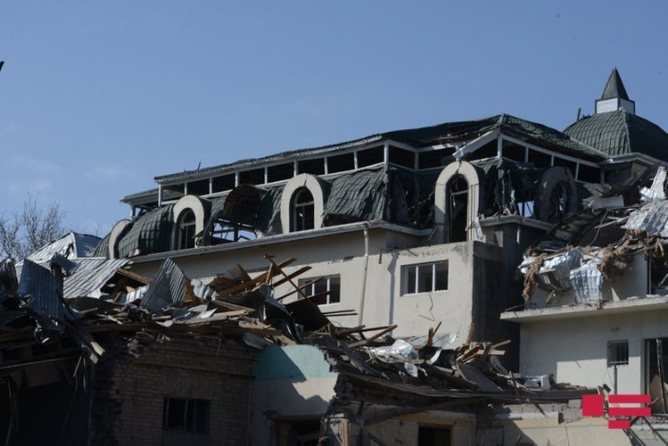 New images from city of Ganja, where Armenia committed state terror - <span class=