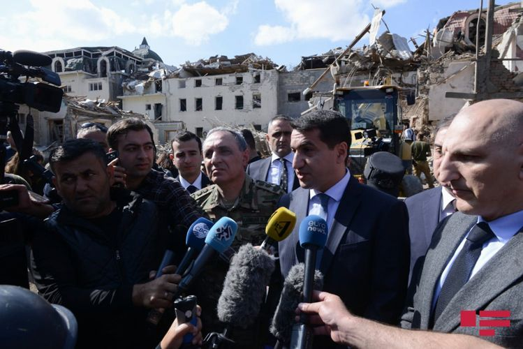 "Hikmet Hajiyev: ""Azerbaijani Armed Forces continue to decisively respond to the enemy"""