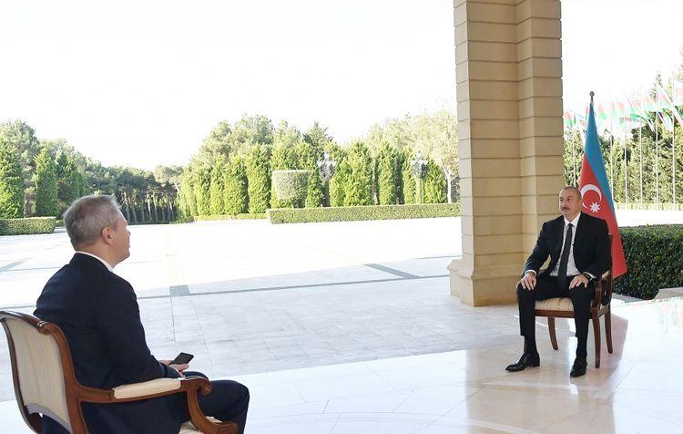 """Prezident İlham Əliyev: """"İşğaldan azad edilmiş əraziləri bərpa edəcəyik"""""""