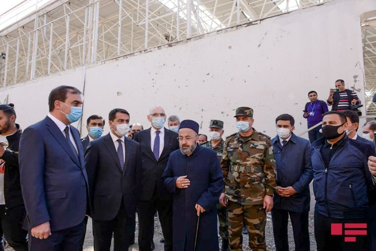 Foreign diplomats witnessed the crimes committed by the Armenian aggressors in Ganja - <span class='red_color'>PHOTOSESSION</span> - <span class='red_color'>UPDATED</span>