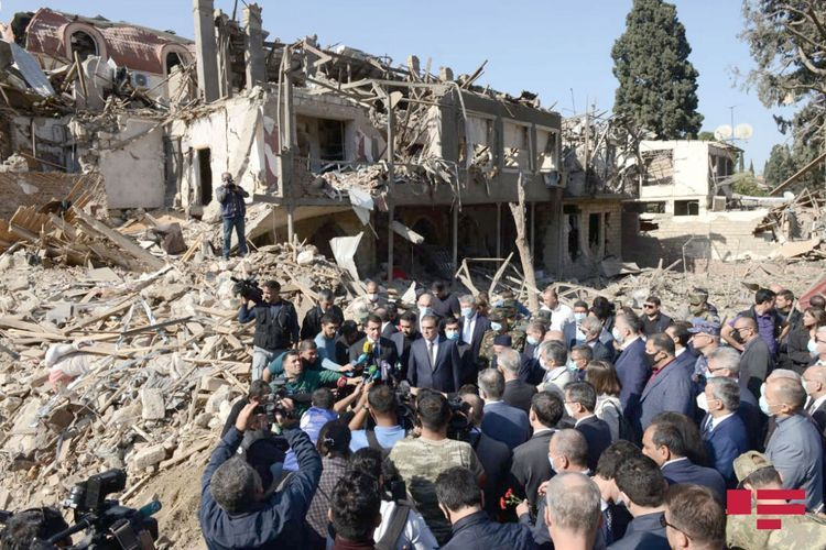 """Deputy minister: """"Special commission of Azerbaijan MES works to assess the damage caused by the attacks on Gandja"""""""
