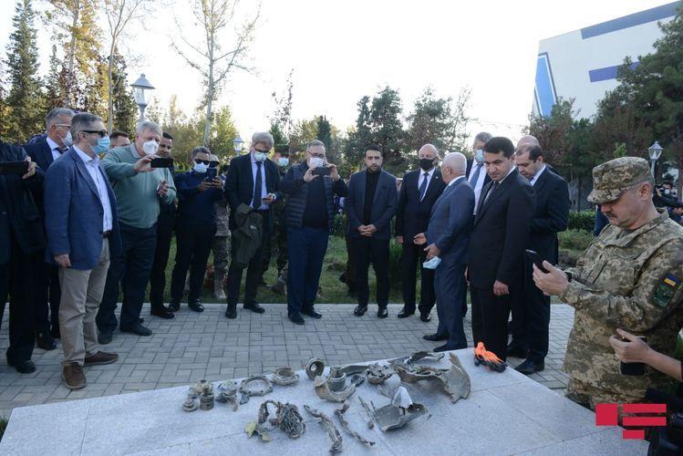 Heads of diplomatic corps and representations of international organizations in Azerbaijan visited Mingachevir