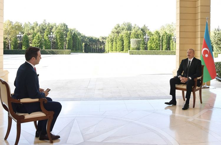 President Ilham Aliyev: The bombing of Ganja is yet another manifestation of the ugly face of Armenian fascism