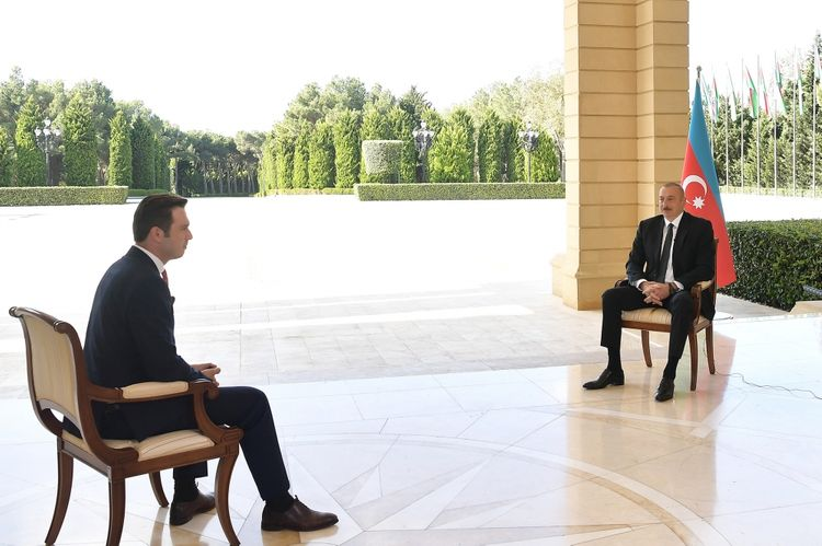 President of Azerbaijan: Armenia is losing in all directions of the front