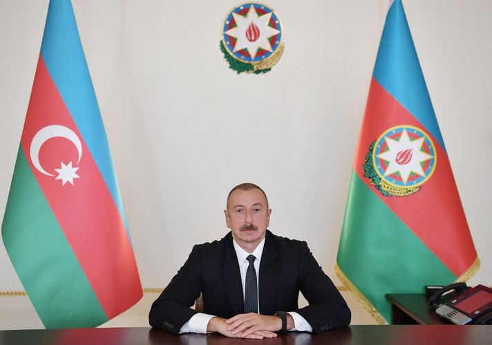 President Ilham Aliyev makes video appeal at the opening ceremony of 71st IAC 2020