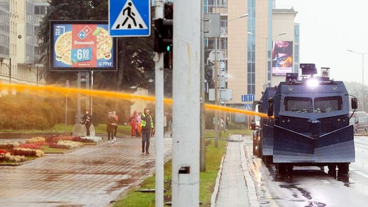 Belarus police authorised to use lethal weapons