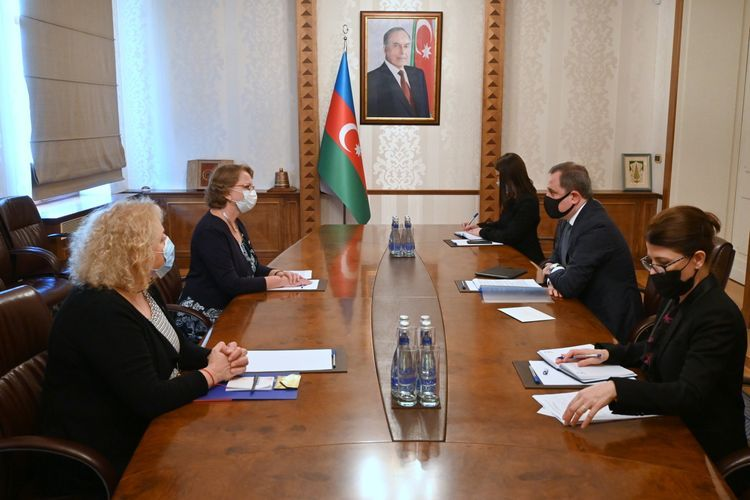 Foreign Minister Jeyhun Bayramov met with the newly appointed Ambassador of the Kingdom of the Netherlands