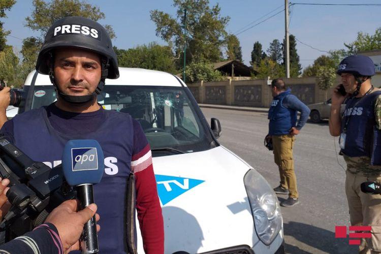 Ermənilər tərəfindən AzTV-nin maşını atəşə tutulub, bir nəfər yaralanıb