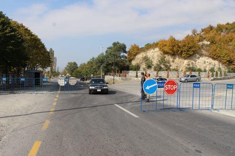 Azerbaijani MIA: Posts set in entries-exits of Shaki city