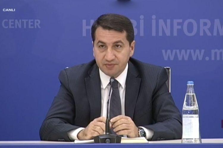 "Hikmet Hajiyev: ""Armenia aggravates conflict by violating Moscow negotiations"""